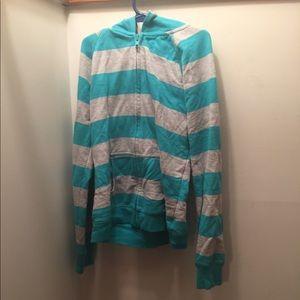 Arizona Jean Co. Striped Sweatshirt